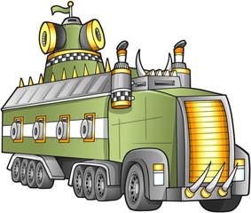 Apocalyptic Truck Vector