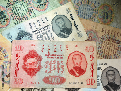 Старые деньги Монголии