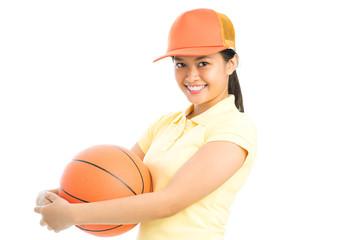 Lovely sportswoman
