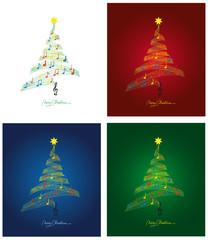 """""""O Tannenbaum""""  Weihnachtskarten SET"""