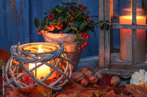 canvas print picture Abendstimmung, evening ambience