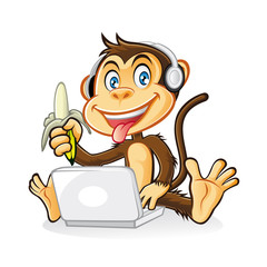 Monkey Laptop