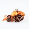 Weihnachtsmix orange III