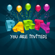 Party Invitation Card