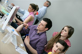 businesspeople on an educational training