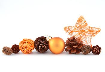 Weihnachtsmix orange VIII