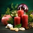 Weihnachtszeit, Kerzen