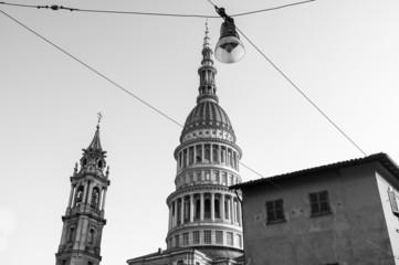 San Gaudenzio Novara B&W image