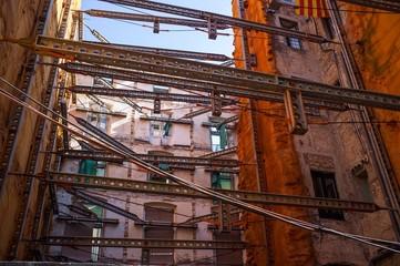Building constructions metal elements