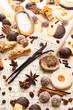 Viele Keks und Gewürze