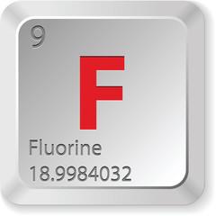 fluorine - keyboard button