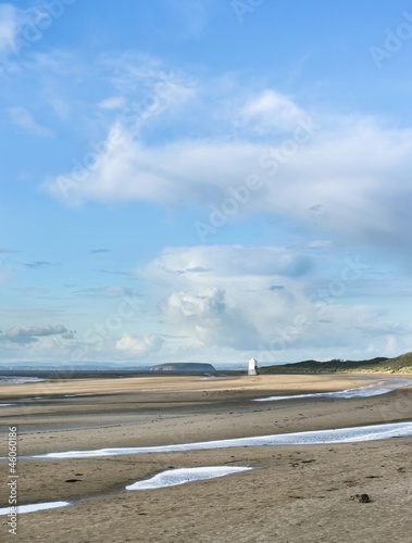 Burnham on Sea Beach, North Somerset, England
