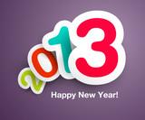Fototapety New Year`s Celebration Design