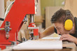 canvas print picture - Tischler