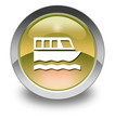 "Yellow Glossy Pictogram ""Boat Tour"""