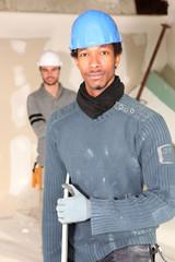 Portrait of a tradesman