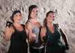 Three Boot Camp Style Workout Ladies Flex Their Biceps