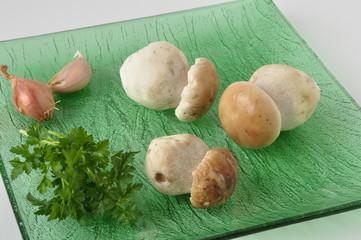 cèpes en cuisine