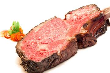 Roasted Wagyu beef steak