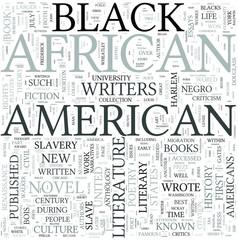 African American literature Discipline Study Concept