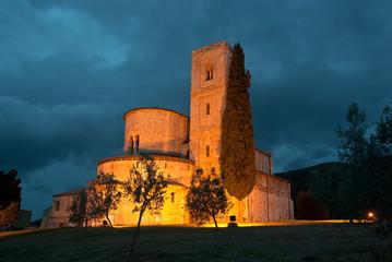 Toscana, abbazia di S. Antimo