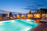 Swimming pool of luxury hotel - 46075517
