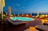 Fototapety Swimming pool of luxury hotel
