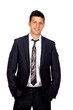 Young Confident young business man standing