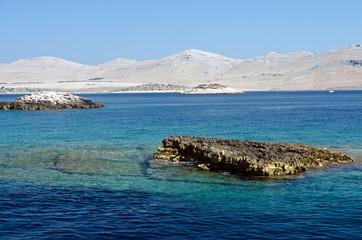 Croazia, trasparenze alle isole Kornati 3