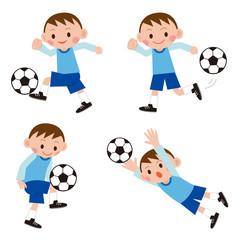 サッカー男子 セット