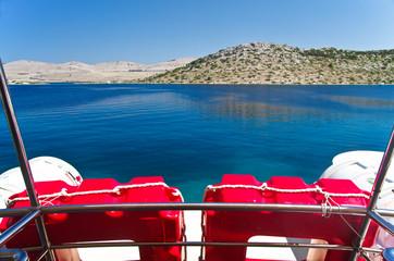Croazia, in navigazione alle isole Kornati