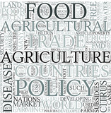 Agricultural policy Discipline Study Concept