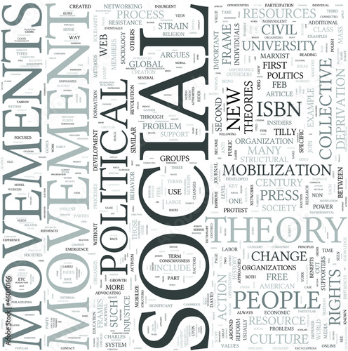 Social geography Discipline Study Concept