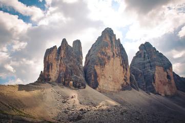 Tre Cime di Lavaredo - Dolomites, Italy.