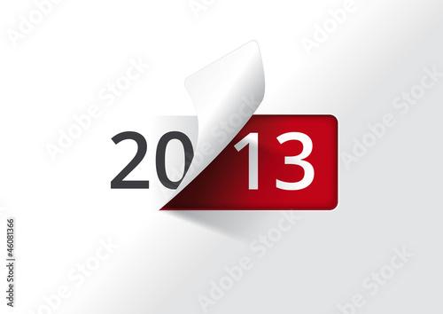Carte de voeux 2013 - On tourne la page