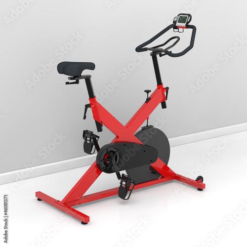 Spinning-Rad im Trainingsraum