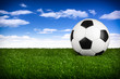 soccer ball  blue sky I