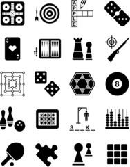 Games icons