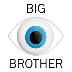 Big bother is watching you concept