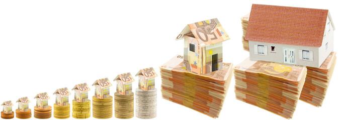 concept coût de la construction immobilière