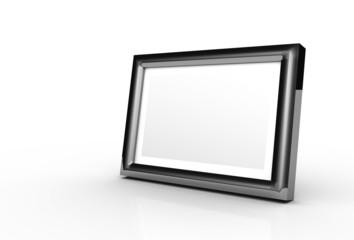Fotorahmen Platin isoliert