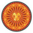 Decorative Summer Mandala