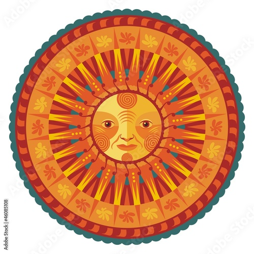 Decorative Summer Mandala