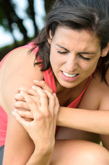 Shoulder lesion pain
