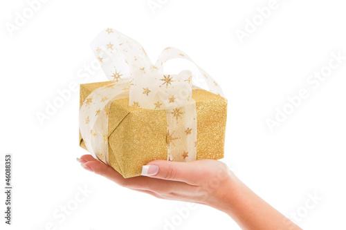 Ein goldenes Weihnachtsgeschenk