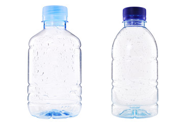 plastic bottle of Drop water