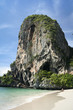 railay beach karst formations thailand