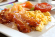 Scrambled Eggs and Bacon - 46091108