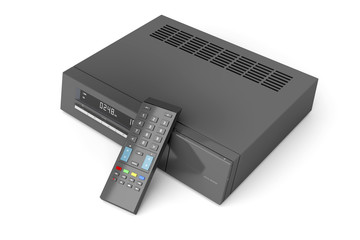 Digital receiver with remote control