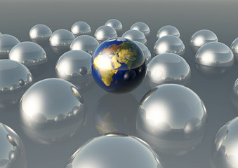Mondo globi egocentrismo pluriball
